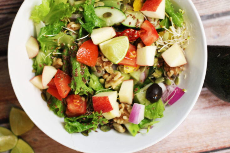 Summer Salad Jar