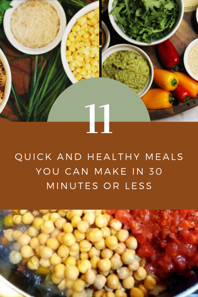 11 Quick And Easy 30 Minute Plant Based Recipes Clean Food Mama
