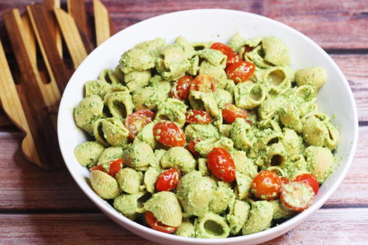 Plant-based Pesto Pasta