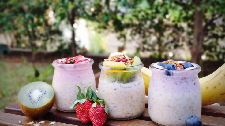 Plant-based Overnight Oats